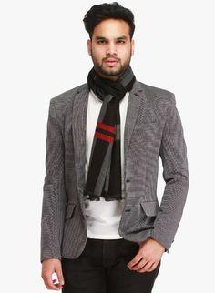 Winter Wear For Men, Blazer, Red, How To Wear, Jackets, Fashion, Down Jackets, Moda, Fashion Styles