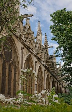 St-Severin, Paris, The Church of Saint-Séverin is a Roman Catholic church in the Latin Quarter of Paris