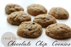 Real Food Chocolate Chip Cookies https://www.weedemandreap.com/real-food-chocolate-chip-cookies/