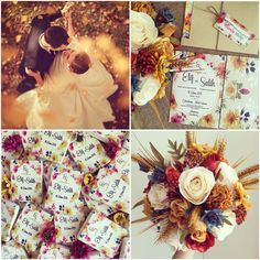 Sonbahar düğün teması / autumn wedding theme www.masalsiatolye.com #masalsiatolye #dugunteması #weddingtheme #sonbahar #autumn