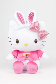 Like a visit from the #HelloKitty #EasterBunny?