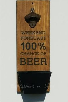 wooden bottle opener - Google Search