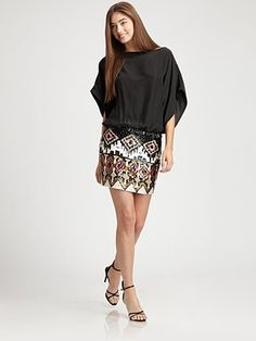 not your average sequin skirt... pretty cool