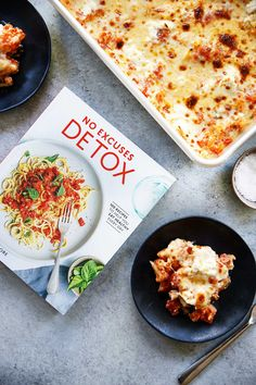 Cauliflower Baked Ziti from @Detoxinista's cookbook No Excuses Detox {Grain-free, gluten-free, low-carb} - Lexi's Clean Kitchen