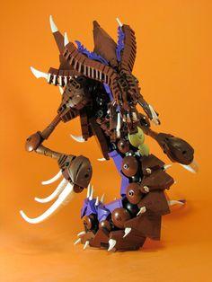 Lego Robot, Lego Lego, Lego Moc, Lego Design, Lego Bionicle, Lego Memes, Lego Dragon, Godzilla Toys, Lego Creator Sets