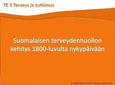 Suomalaisen terveydenhuollon kehitys 1800-luvulta nykypäivään