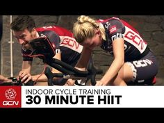 HIIT - 35 Minute Cycle Training Workout - Hill Training - YouTube