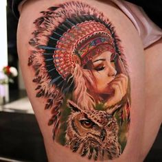 Native American Tattoos, Designs And Ideas