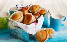 Vadelmamuffinssit Pretzel Bites, Sweet Potato, Muffins, Potatoes, Bread, Vegetables, Breakfast, Food, Morning Coffee