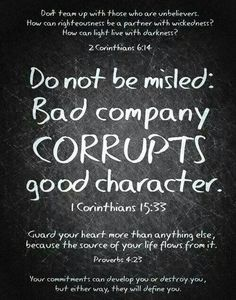 2 Corn. 6:14 Be not unequally yoked together with unbelievers.VS.17 Come out from them,be separate,saith The Most High,touch not the unclean thing & I will receive you. We are called to come out of them,not to join them willingly!1 Corn.10:20&21.I say,the things the Gentiles sacrifice,they sacrifice to devils,not to The Most High,If ye should have fellowship with devils. Ye can't drink the cup of The Most High & the cup of devils, can't be partakers of The Most High's table & the table of…