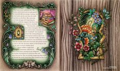 """480 Likes, 50 Comments - Kristen Lambert-Bedelis (@kristenlambertbedelis) on Instagram: """"And... here's the finished double page spread of 'Through the Door into the World of Enchantia' for…"""""""