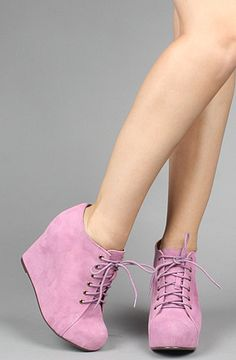& THESE  Jeffery Campbell lavender wedges. Must have!!!!