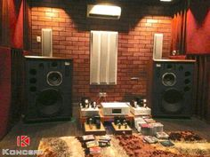 A rare pair of JBL 4345 Studio Monitors...