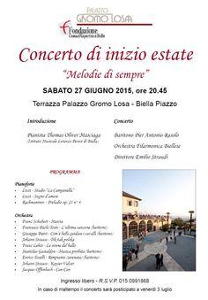 Concerto di inizio estate 2015