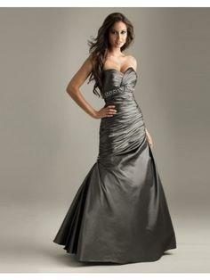 Empire Dazzling Sweetheart Ruffles Floor-length Taffeta Prom Dress