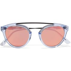 555a0dad6ccdd Rose-tinted sunglasses are set to be huge this year