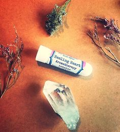 Healing Heart aromatherapy inhaler, aromatherapy, love, loss, grief, sadness, depression, inhaler, breakup, death, brokenheart by Rootzandflowers on Etsy https://www.etsy.com/listing/518254037/healing-heart-aromatherapy-inhaler