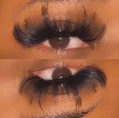 Best Lash Extensions, Mink Eyelash Extensions, Perfect Eyelashes, Best Lashes, Black Girl Makeup, Girls Makeup, Drip Nails, Eyelash Lift, Rainbow Makeup