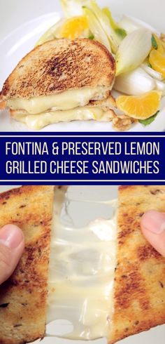 Fontina, rye, and meyer lemon is the best new grilled cheese combo you never thought of.