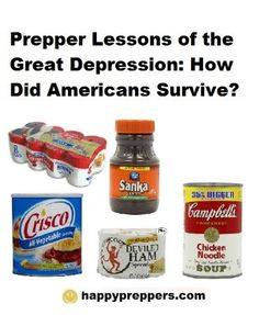 Here is a summary of lessons for preppers from the Great Depression:  http://www.happypreppers.com/Depression.html
