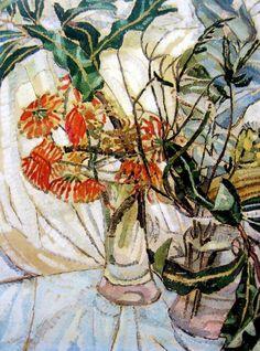Grace Cossington Smith | Firewheel, 1928 | Oil on board, 48 x 36 cm