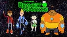Bravest warriors a rip off of adventure time but still better to me