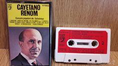 CAYETANO RENOM. CANÇONS POPULARS DE CATALUNYA. MC / DISCOPHON - 1975 / LUJO.