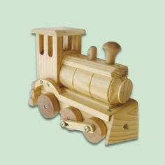 Locomotive:     Kids of all ages love toy trains, so why not buy one the family can build together? This wood locomotive kit comes with pre-cut sanded wood, instructions, hardware, and the tools you need to put it all together. Your train will be up and running in no time.     About $20; Whistle-Stop.com