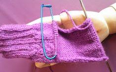 ARTES-ANAS: CALCETINES 5 AGUJAS,TALÓN Y CAZUELA, (2 DE 3) Fingerless Gloves, Arm Warmers, Crochet, Accessories, Fashion, Knit Socks, Long Scarf, Tricot, Vestidos