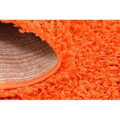 "Zipcode Design Madison Orange Area Rug Rug Size: 2'2"" x 6'5"", Color: Orange"