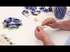 Videoaula com Marcelo Nunes e EuroFios Flor Segredo - YouTube
