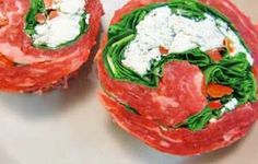 Easy Gluten Free Dinner - Flank Steak Florentine | Gluten Free Recipes