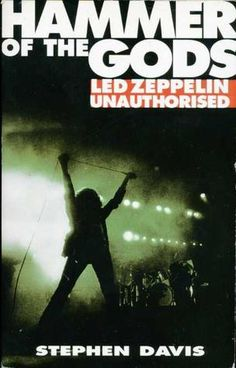 Hammer of the Gods Led Zeppelin Unauthorised by Stephen Davis. In today @ Canterbury Tales Bookshop / Book exchange / Guesthouse / Cafe, Pattaya.