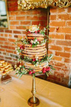 Bolos de casamento alternativos com waffles!