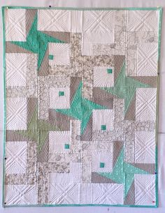Pinwheels Plus quilt by The Zen Quilter: 2015 Blogger's Quilt Festival