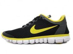 official photos da56b 256e3 Nike Free 3.0 V2 Mens Original running Black lemon White Yellow 354574 071 Nike  Free 3.0