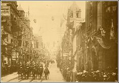 Visit of Duke and Dutchess of York, 1901 - later King George and Queen Mary Canadian Forest, Capital Of Canada, Canadian History, Montreal Quebec, Queen Mary, King George, Old City, Ottawa, Old Photos