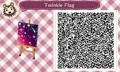 A wide choice of qr codes for Animal Crossing New Leaf and Happy Home Designer Animal Crossing Qr Codes Clothes, Animal Crossing Game, One Design, Leaf Design, Acnl Qr Code Sol, Acnl Pfade, Acnl Paths, Motif Acnl, Ac New Leaf