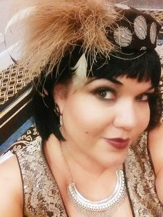 Prohibition Gala! Vintage Inspired, Wigs, Pearl Necklace, Pearls, My Style, Makeup, Inspiration, Fashion, Hair Wigs