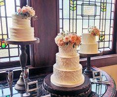 Buttercream cakes trio. ©Coco Paloma Desserts