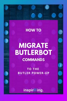 There are changes happening to the way Trello can be used for automated business processes. The ButlerBot, so far the flagship tool for creating workflows and automation in Trello, is being phased out and replaced by a Power-Up. | ☞ Pin this and learn the 6 differences between these tools & a few tips for migrating your commands. #Trello #workflow #automation #PowerUp #productivity #ProjectManagement