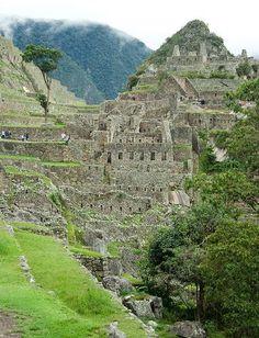 Inside Machu Pichu - Peru