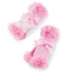Mud Pie Chiffon Leg Warmers-mud pie, chiffon leg warmers, leggins, trendy, baby boutique, baby, infant, newborn, baby shower gift, pink