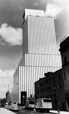 Kahn & Jacobs, AT&T Switching Tower, New York, New York, 1964
