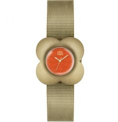 Orla Kiely Poppy Gold Mesh Bracelet Watch for sale online Mesh Bracelet, Bracelet Watch, Orla Kiely Watch, Gold Plated Bracelets, Metal Jewelry, Gold Jewellery, Pink And Gold, Rose Gold, Poppies