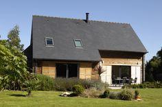 Réalisations de maisons - Groupe Trecobat- maison ossature bois traditionnelles