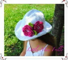 crochet cowgirl hat