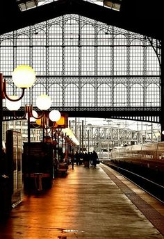 Gare du Nord Train Station, Paris