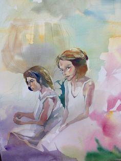 watercolor - sister / 2015