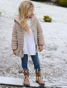 Suéter del ganchillo de Veilynn PATTERN-The 2 por Thevelvetacorn